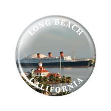 Long Beach Queen Mary Magnet