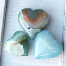 Blue Stone Heart