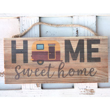 Home Sweet Home Camper Rope Sign