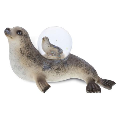 Seal Snow Globe