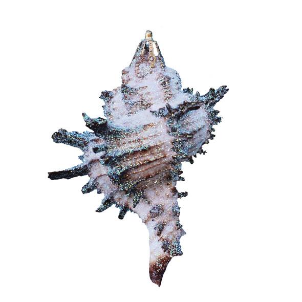 Small Murex Endiva Glitter Christmas Ornament