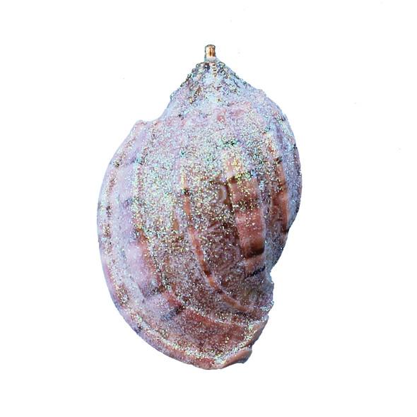 Small Glitter Harpa Seashell Ornament