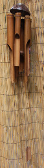 Coconut Top Bamboo Chime