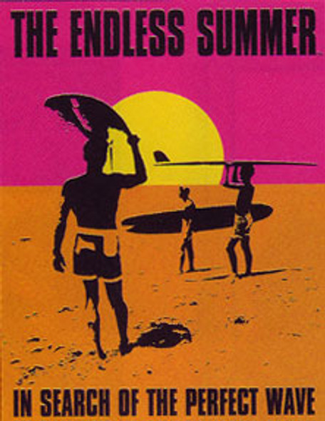Endless Summer Movie Poster Metal Sign