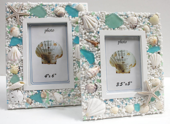 Sea Glass 3.5 x 5 Picture Frame