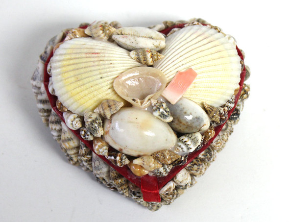 Heart Seashell Box