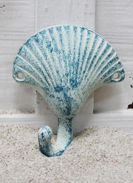 Iron Seashell Hook