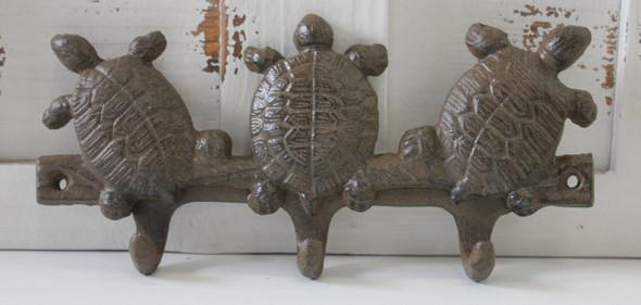 Triple Turtle Key Hook