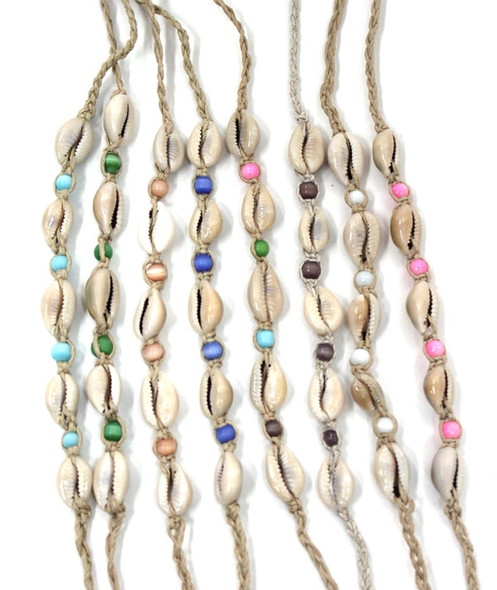 Good Fortune Cowrie Shell Anklets