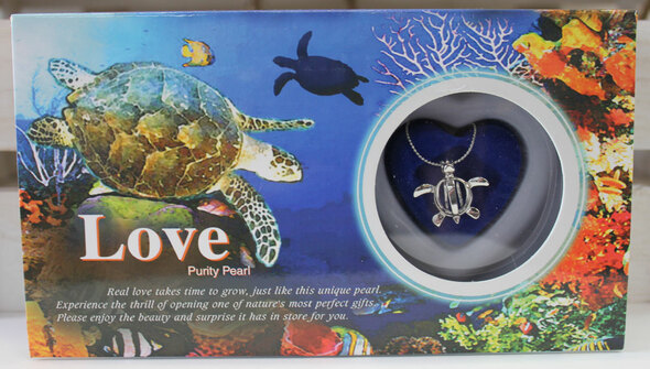Sea Turtle Fortune Pearl Necklace