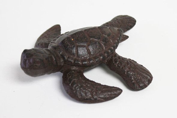Brown Iron Sea Turtle