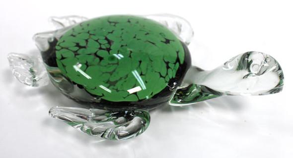 Green Glass Turtle