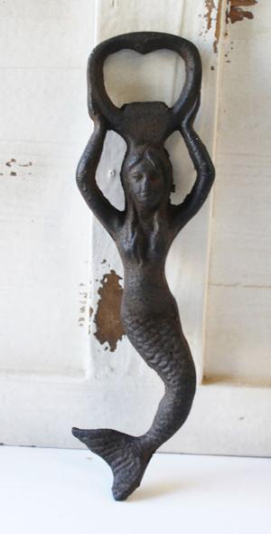 Small Iron Mermaid Bottle Opener