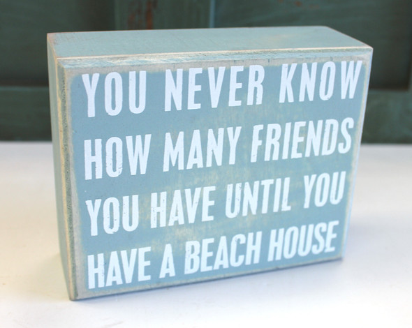 You Never Know How Many Friends You Have Until You Have a Beach House