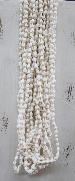 White Nassa Shell Leis