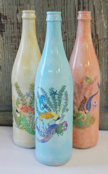 Mermaid Glass Bottles