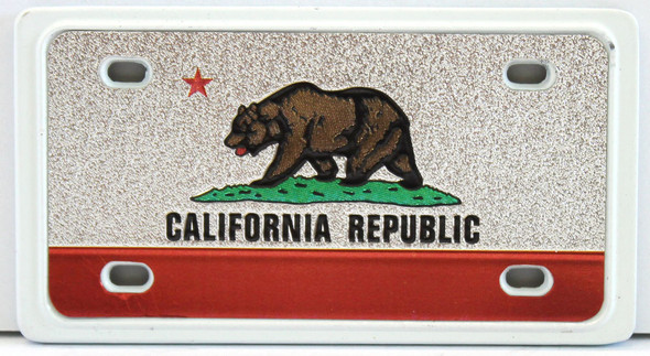 License Plate Magnet - California Republic