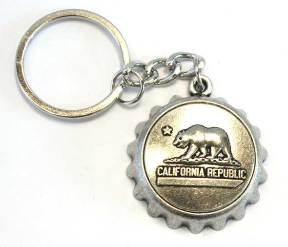 Bottle Cap Keychain