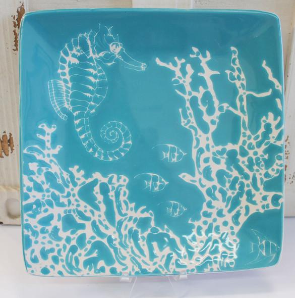 Sea Horse Salad Plate