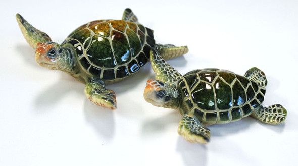 """4.25"""" with 3.5"""" turtles"""