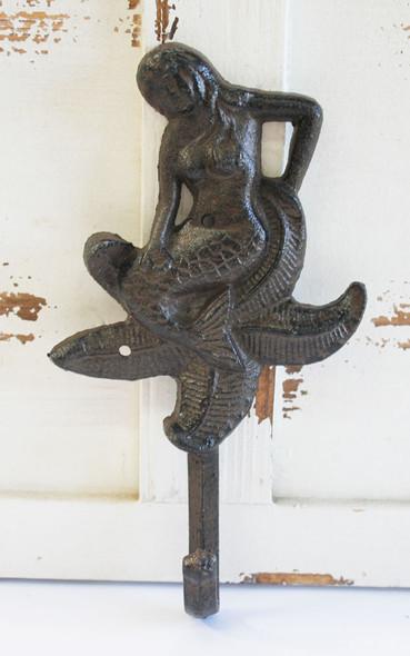 Brown Mermaid Starfish Hook