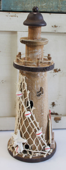Nautical Wood Lighthouse