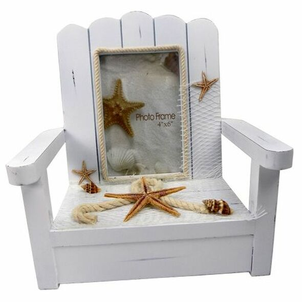 White Adirondack Chair Frame