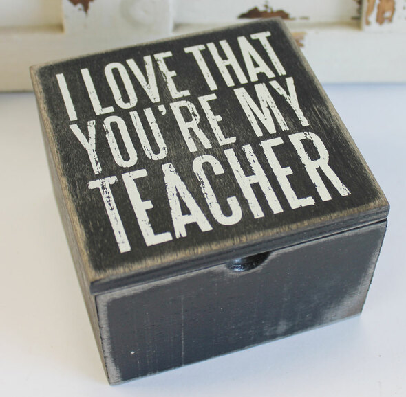 I Love that You're My Teacher