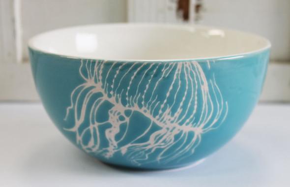 Ceramic Jellyfish Bowl
