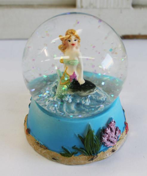 Mermaid Snow Globe