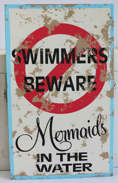 Swimmers Beware - Mermaids in the Water