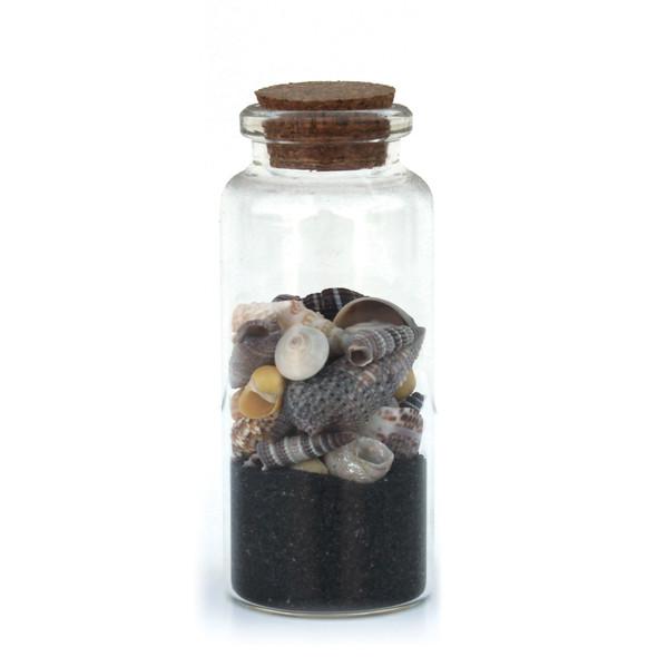 Black Sand Beach Bottle Magnet