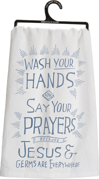 Jesus & Germs Towel