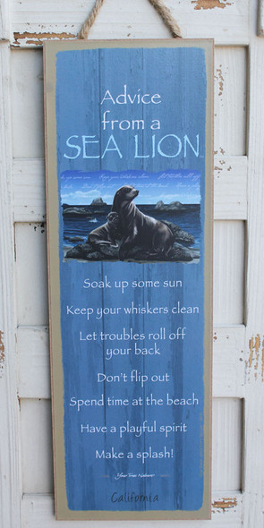 Advice from a Sea Lion
