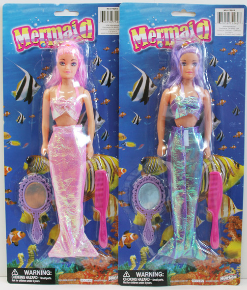 Mermaid Dolls in 2 colors