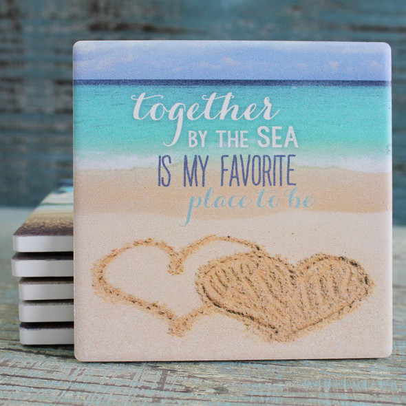 Together by the Sea is My Favorite Place to Be