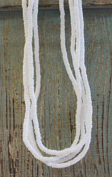 White Puka Shell Necklaces