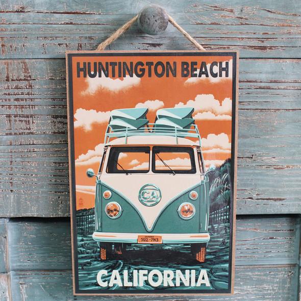 VW Bus Huntington Beach