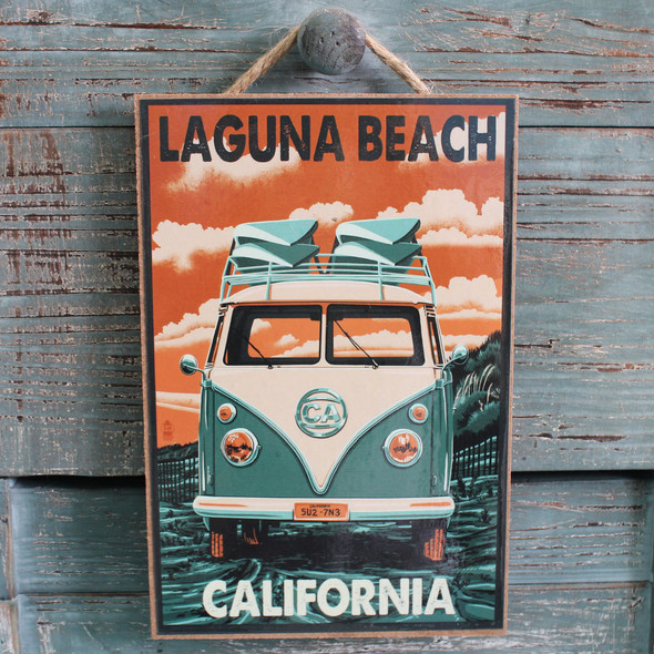 VW Bus Laguna Beach