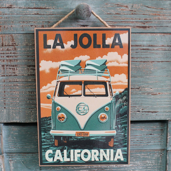 VW Bus La Jolla