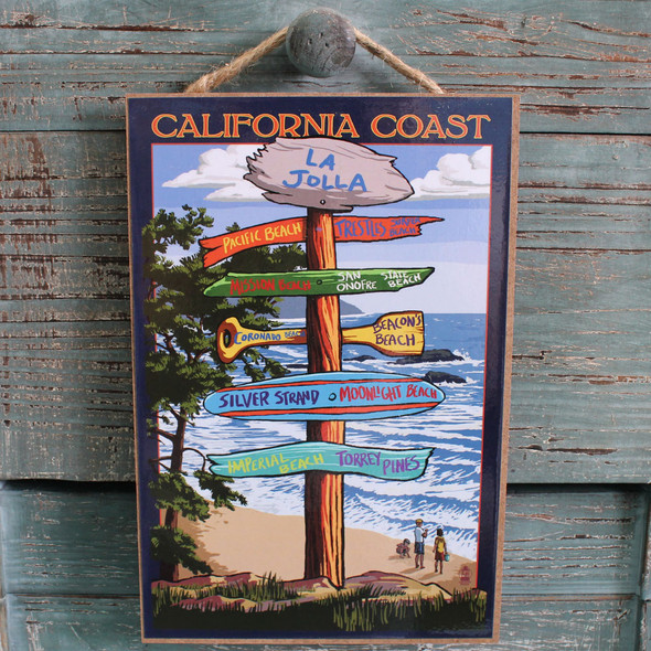 La Jolla Destination Sign