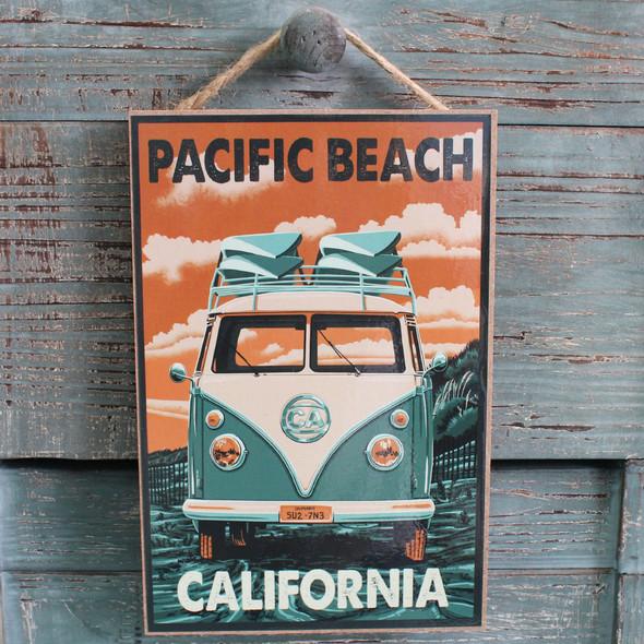 VW Bus Pacific Beach