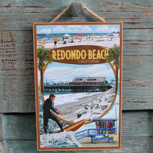 Redondo Beach Montage Sign