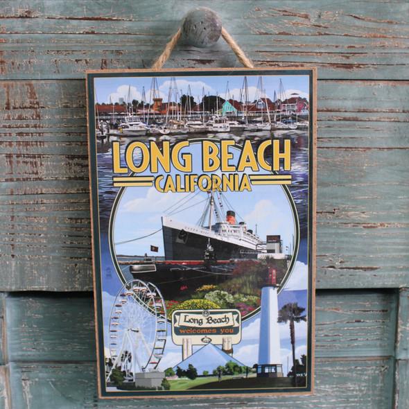 Long Beach Photo Montage