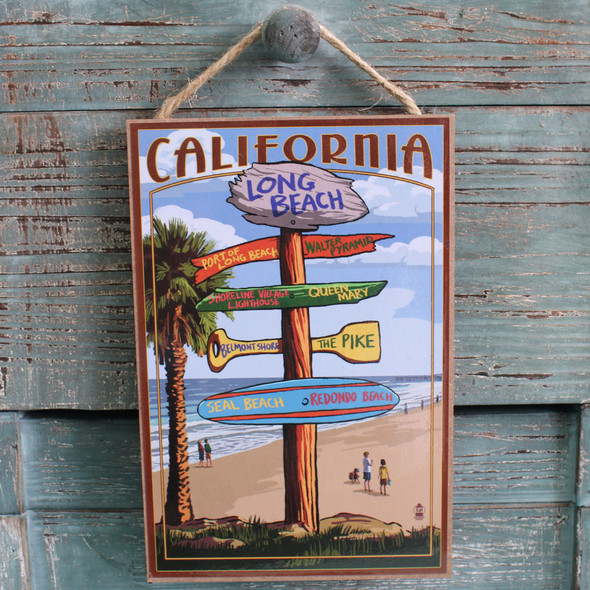Long Beach Destination Sign