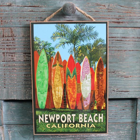 Surfboard Fence Newport Beach