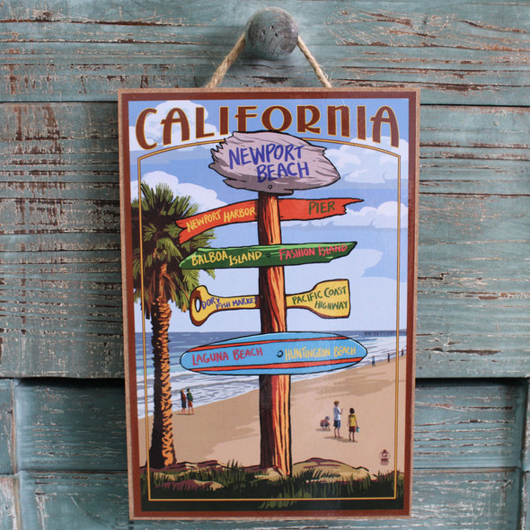Newport Beach Destination Sign