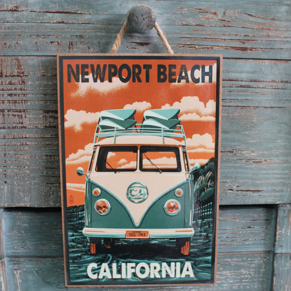 VW Bus Newport Beach