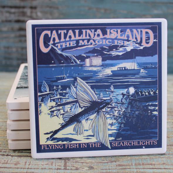 Catalina Montage Coaster