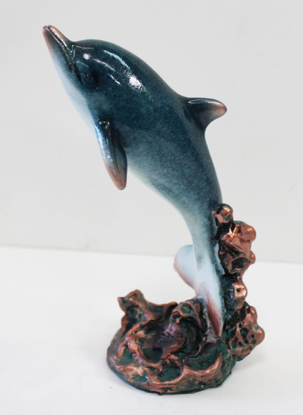 Jumping Dolphin Statue
